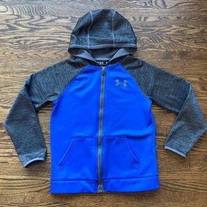Under Armour hooded zip up sweatshirt